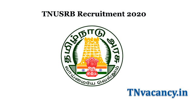 TNUSRB Recruitment 2020