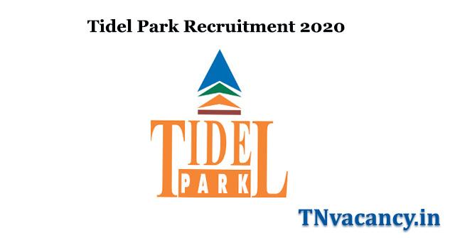 Tidel Park Recruitment 2020