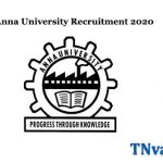 Anna University Recruitment 2020