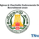Hindu Religious & Charitable Endowments Department Recruitment-2020