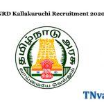 TNRD Kallakuruchi Recruitment 2020